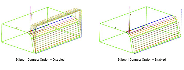 milling-draft-angle-z-step-connect-option